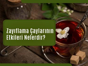 zayiflama caylarinin etkileri nelerdir - Zayıflama Çaylarının Etkileri Nelerdir?