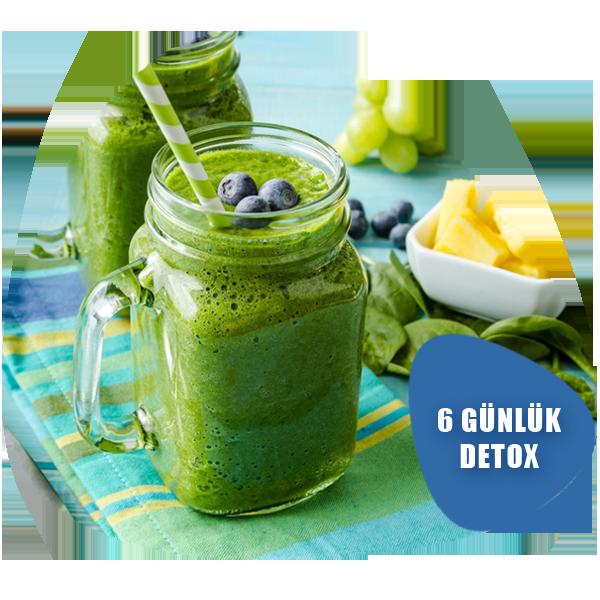 6 gunluk detox 1 - 6 Günlük Detox
